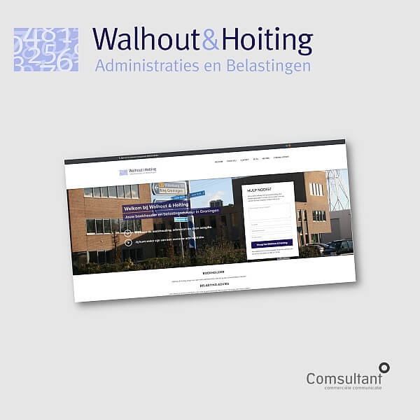 Boekhouder in Gronigen - Walhout en Hoiting